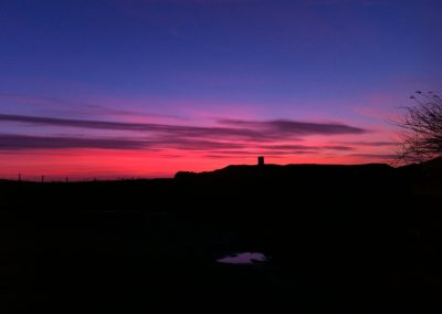 Sunset at The Isle of Whithorn