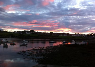 Isle of Whithorn Sunset